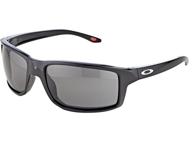 Oakley Gibston Sonnenbrille polished black/prizm grey